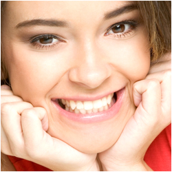 White teeth make an attractive smile in Pikesville and Towson